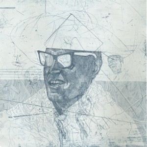 Ricketts_2_Space and Time, etching, 18 x 18, 2012