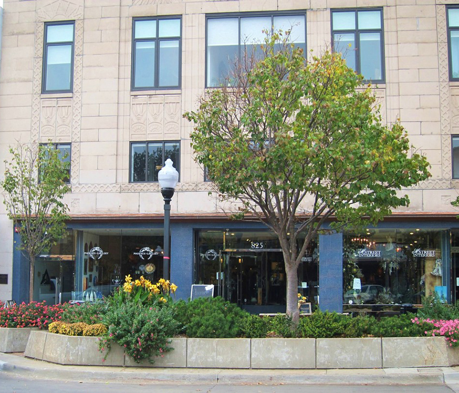 The Phoenix Gallery in downtown Lawrence, Kansas